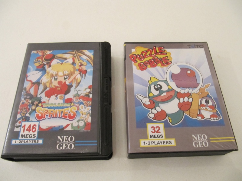 Ma collec' Neo Geo AES US Img_7848