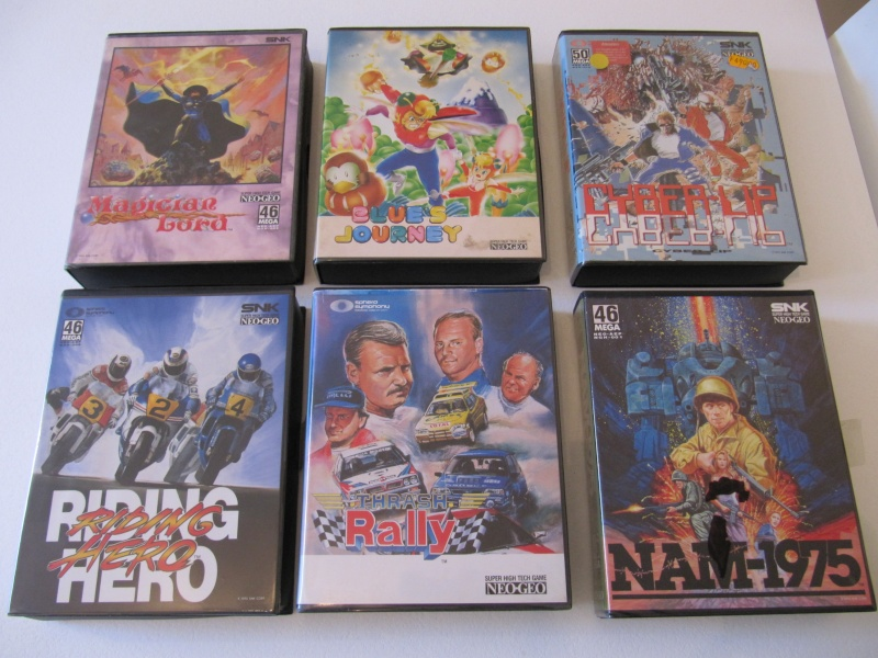 Ma collec' Neo Geo AES US Img_7912