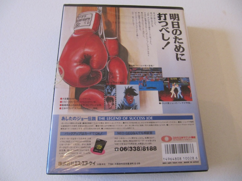 Ma collec' Neo Geo AES US Img_7921