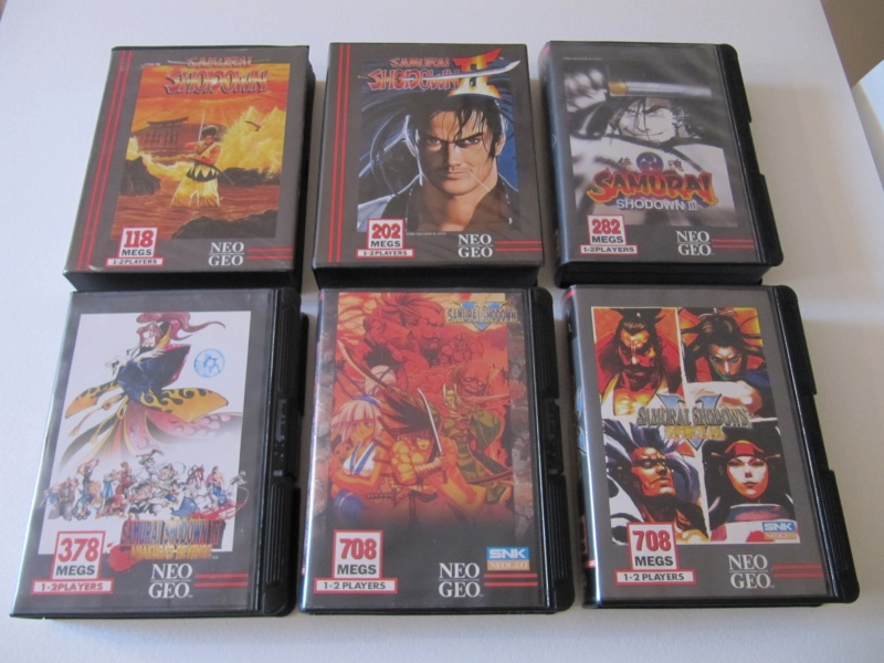 Ma collec' Neo Geo AES US Img_7924