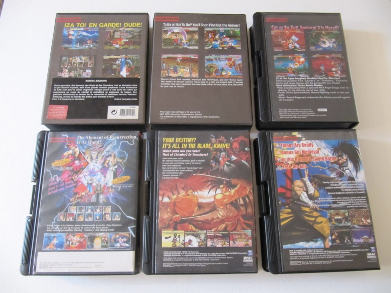 Ma collec' Neo Geo AES US Img_7925