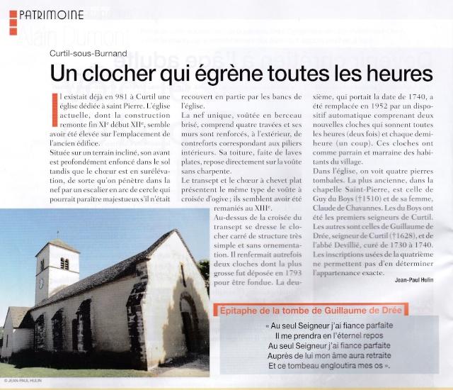 ASP Saint Louis,  Connaitre les églises de notre paroisse Curtil11