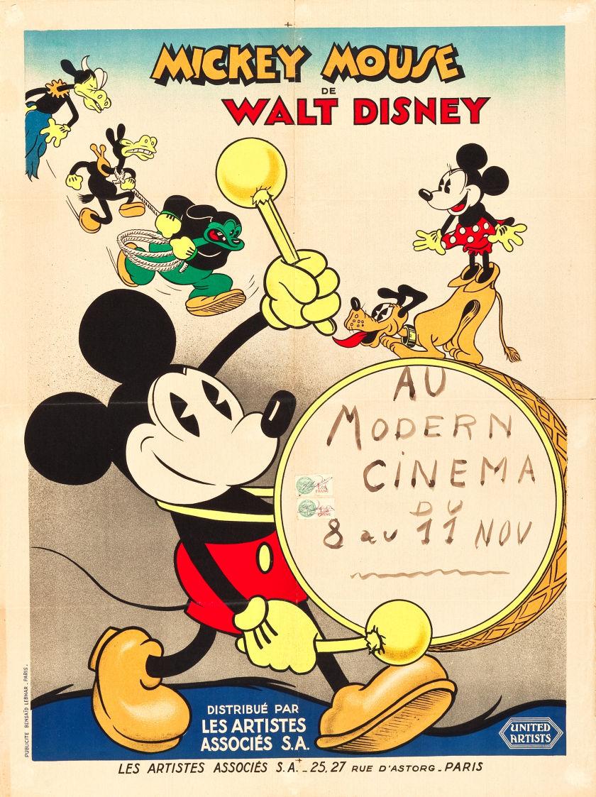 Les courts métrages Disney distribués en France Poster10