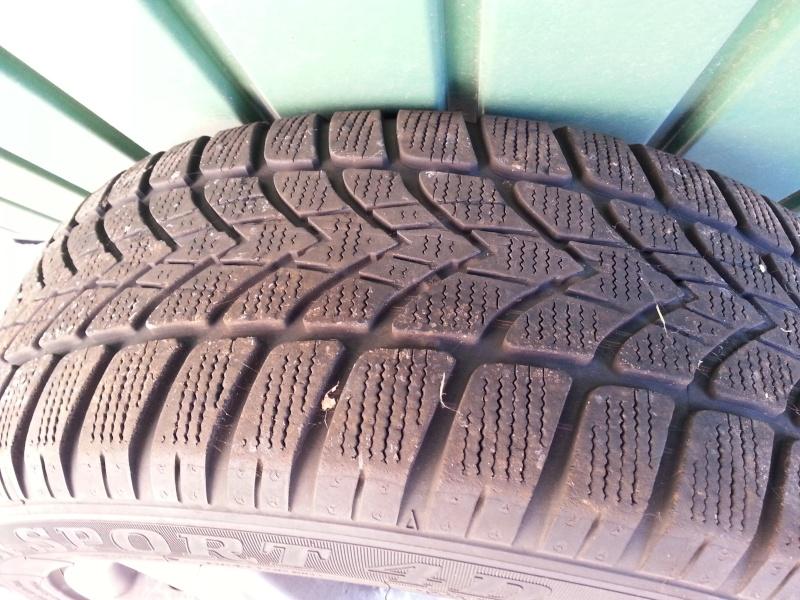 """[VDS] 4 jantes 16"""" équipées de pneus hiver - Prix en Baisse 250€ 20151116"""