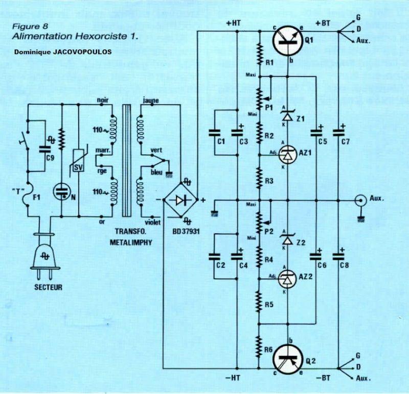 Amplificateur USSA 15W - Conception - Page 4 Alim-h10