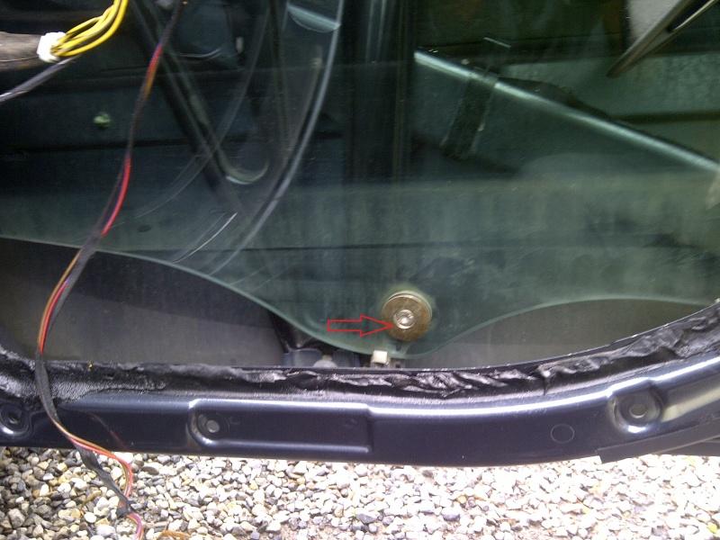 Tuto Démontage Mécanisme vitre électrique arrière Img-2069
