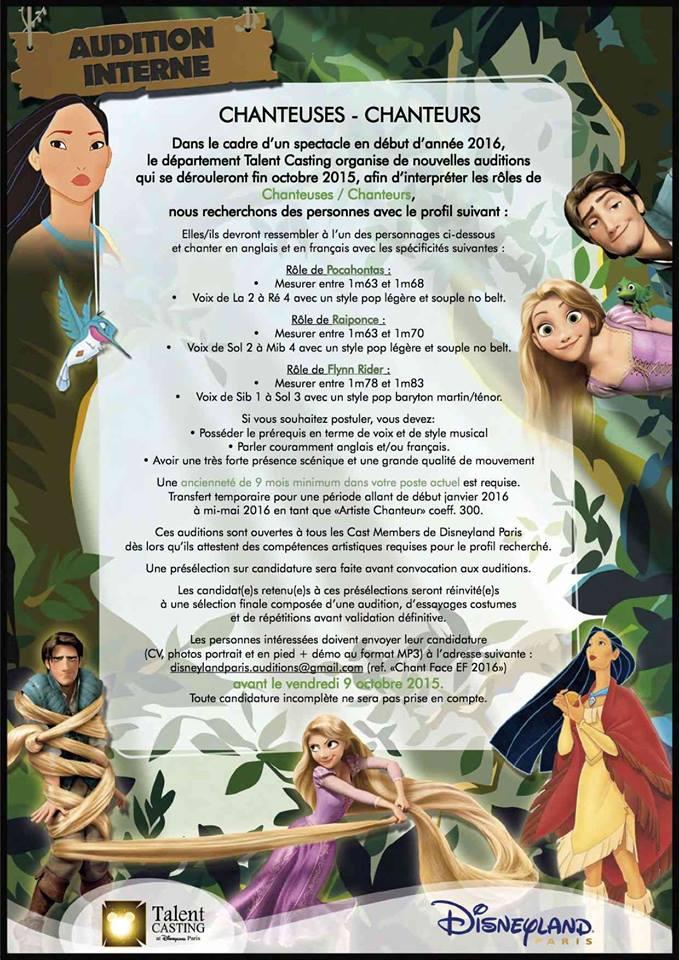 La Forêt de l'Enchantement : Une Aventure Musicale Disney (2016-2017) 12027610