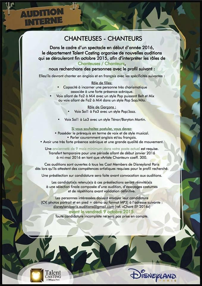 La Forêt de l'Enchantement : Une Aventure Musicale Disney (2016-2017) 12043010
