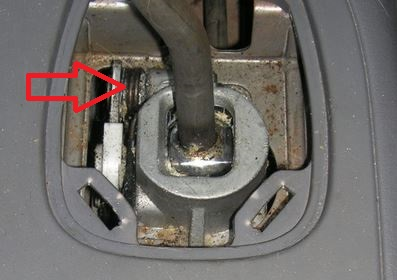 ressort casse au selecteur de vitesse s3 de 1999 td Captur16