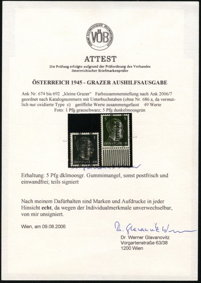 1945 - Grazer Aushilfsausgabe Mai 1945 Img21610