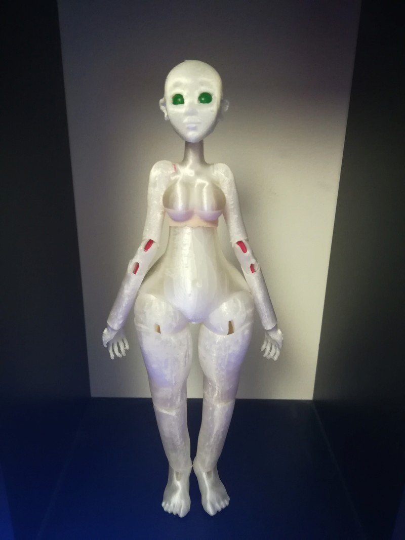 [MissNekotaku]Tiny toons Doll(modélisation et impression 3d) - Page 3 20181212