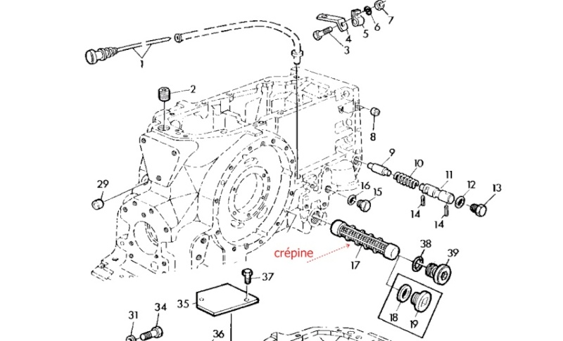 remise en fonctionnement du circuit hydraulique 2040 s 204011