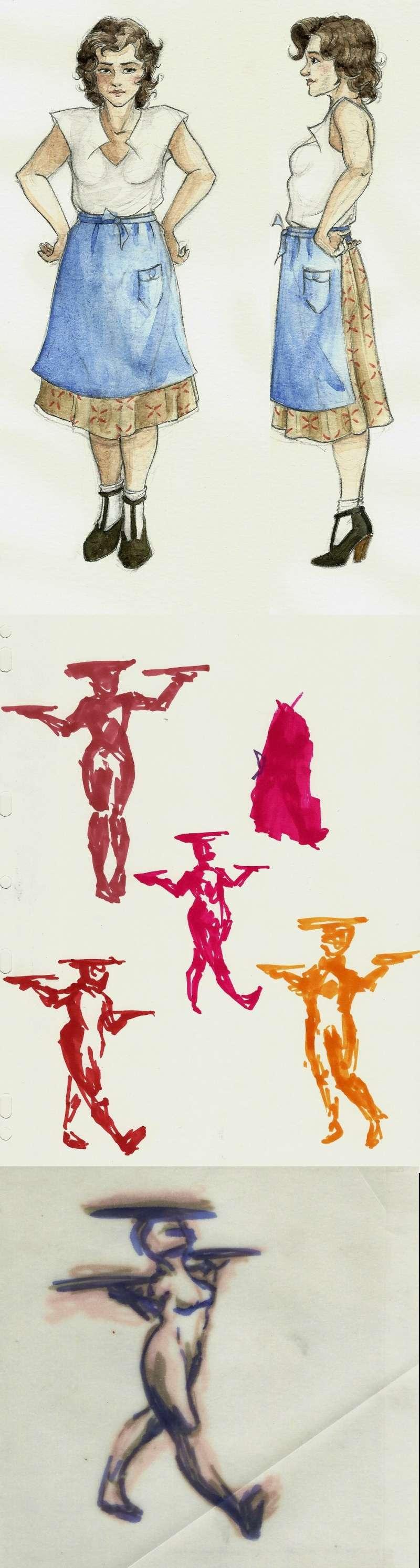 Retrouvailles - sculpture Croqui23