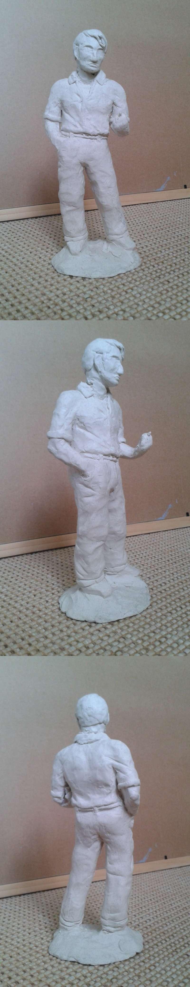 Retrouvailles - sculpture Pozzet16