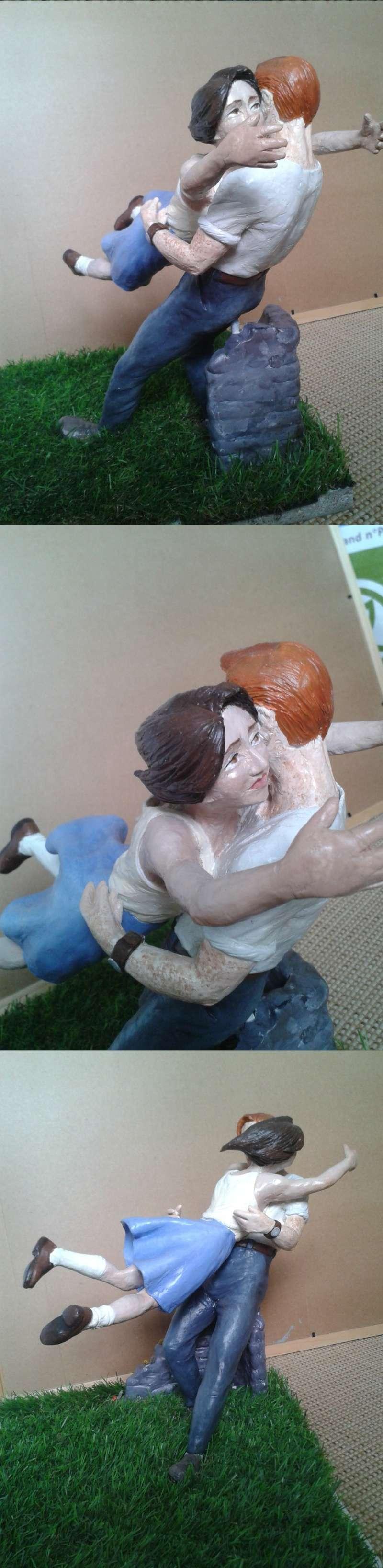 Retrouvailles - sculpture Volume16