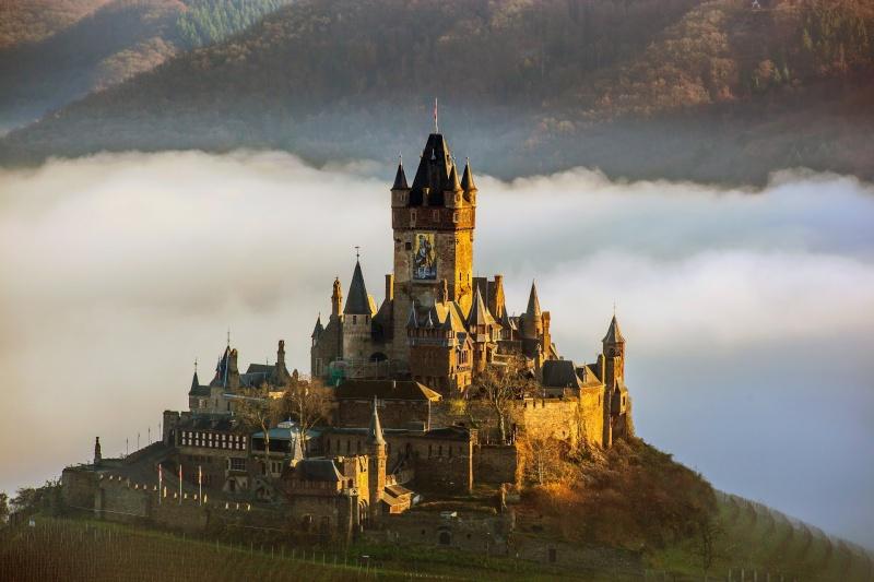 avril 2016: de la Moselle au Rhin  Cochem10
