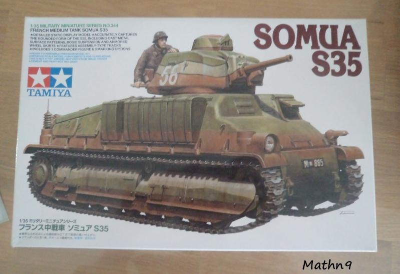 Somua S35 [Tamiya 1/35] + Amelioration Tourelle Azimut -Terminé- Dsc03430