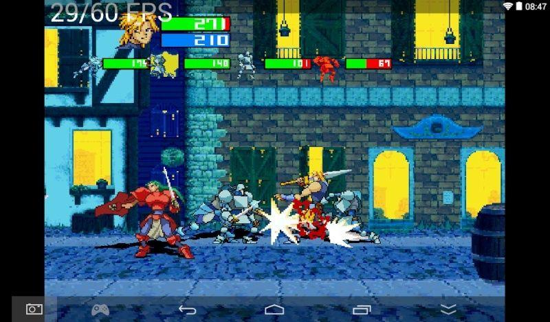uoYabause - Sega Saturn sur ANDROID Screen11