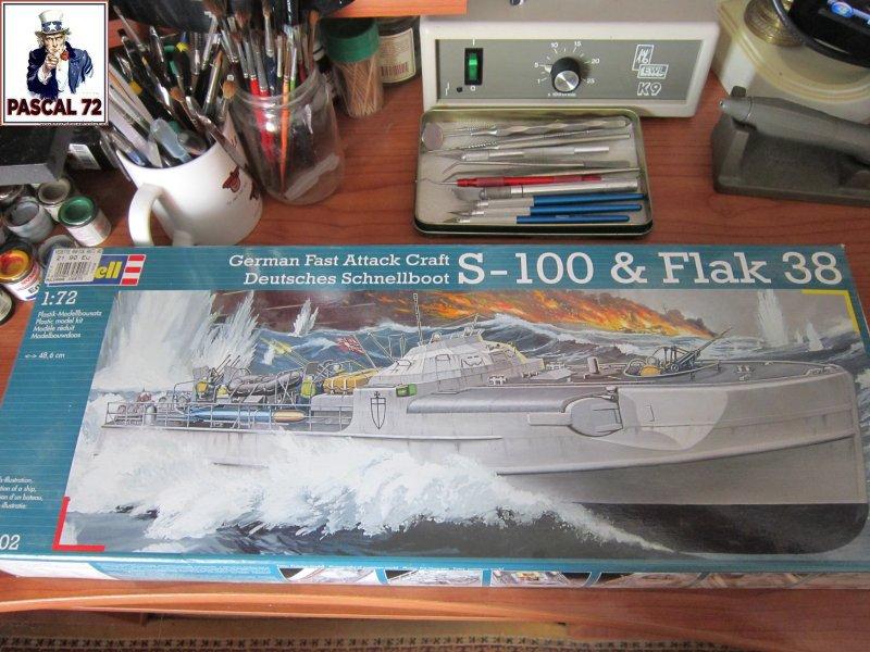 Schnellboote S-100 Flak 38 de Revell au 1/72 par pascal 72 Img_5228