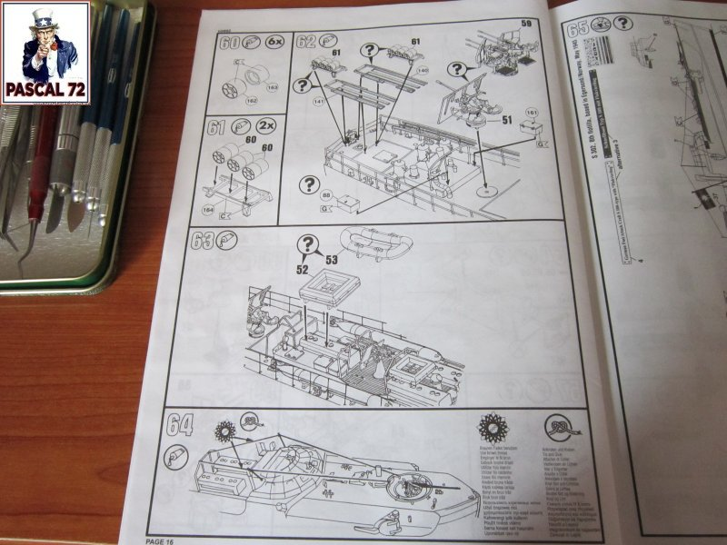 Schnellboote S-100 Flak 38 de Revell au 1/72 par pascal 72 Img_5244