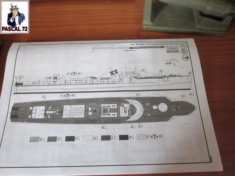 Schnellboote S-100 de Revell au 1/72 par pascal 72 - Page 2 Img_5245