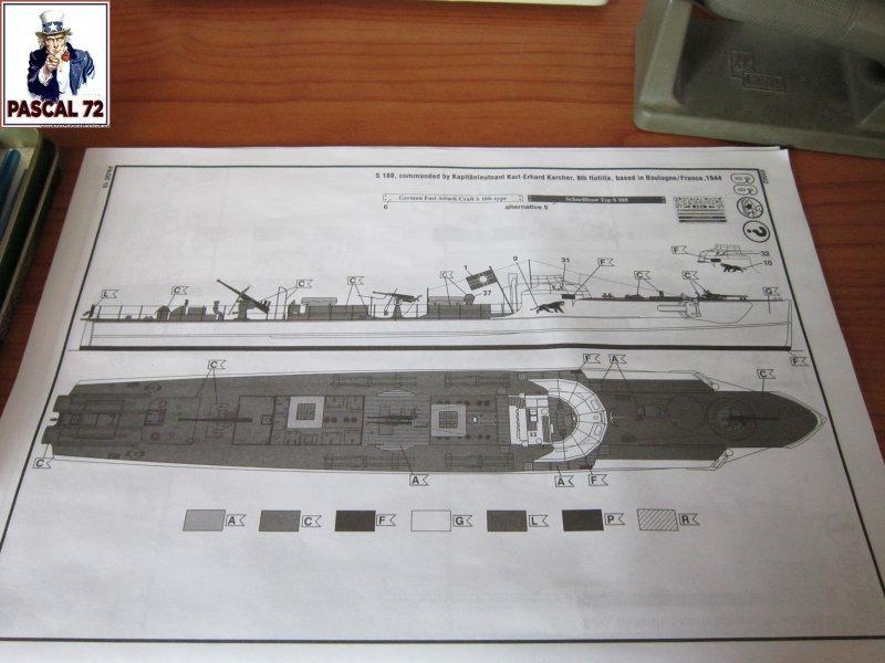 Schnellboote S-100 Flak 38 de Revell au 1/72 par pascal 72 Img_5246