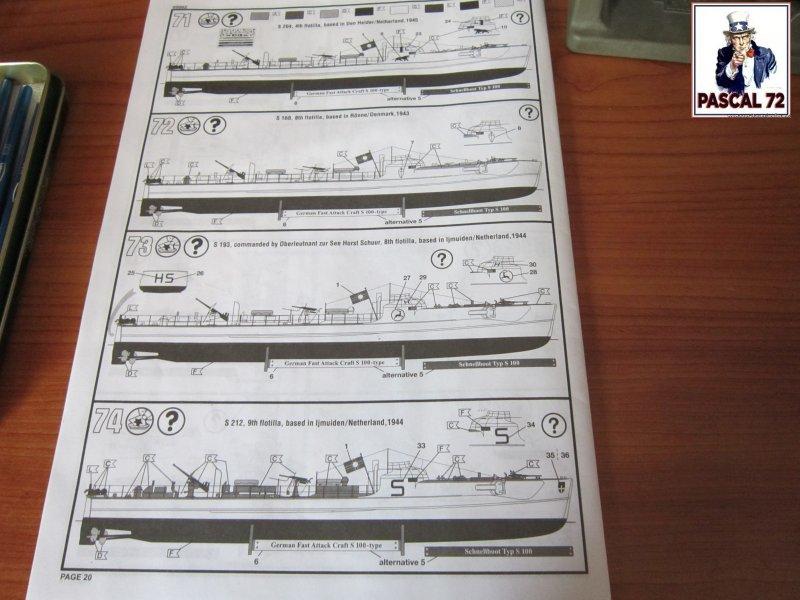 Schnellboote S-100 Flak 38 de Revell au 1/72 par pascal 72 Img_5248