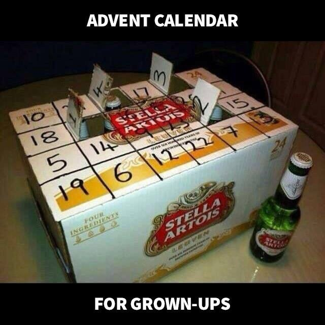 Medical condition.... ;o) Advent10