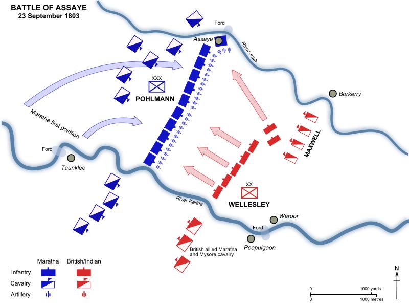 bataille d'Assaye, 23 septembre 1803 800px-10