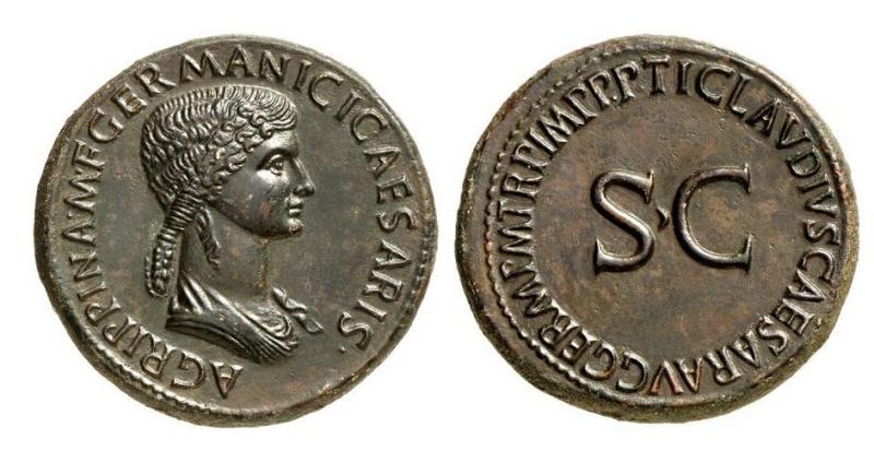 Bronzes antiques regravés : avant - après J110