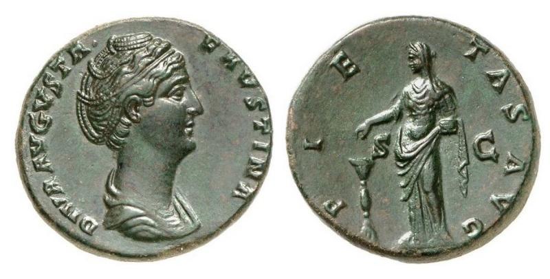 Bronzes antiques regravés : avant - après J210