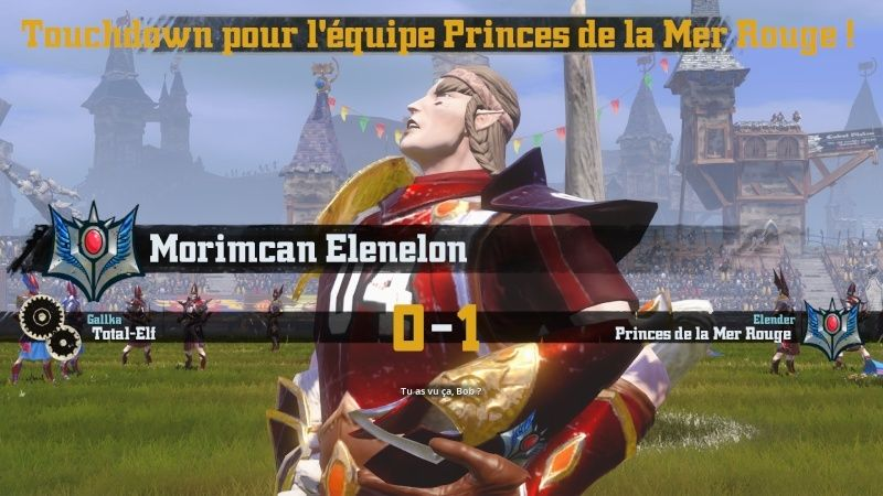 [Gallka] Total-Elf 3-2 Prince de la Mer Rouge [Elender] Td112