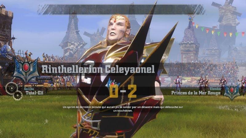 [Gallka] Total-Elf 3-2 Prince de la Mer Rouge [Elender] Td211