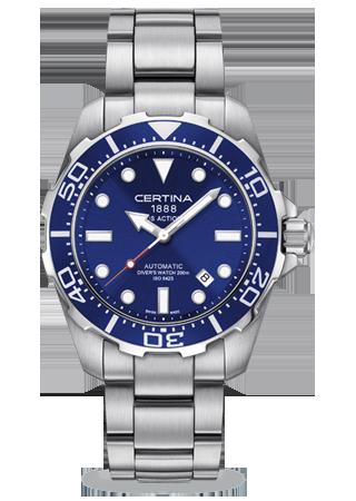 Recherche plongeuse cadran bleue C013_410