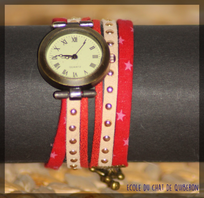 Les montres - 100% Fait-main, au profit de l'ECQ! Img_1718