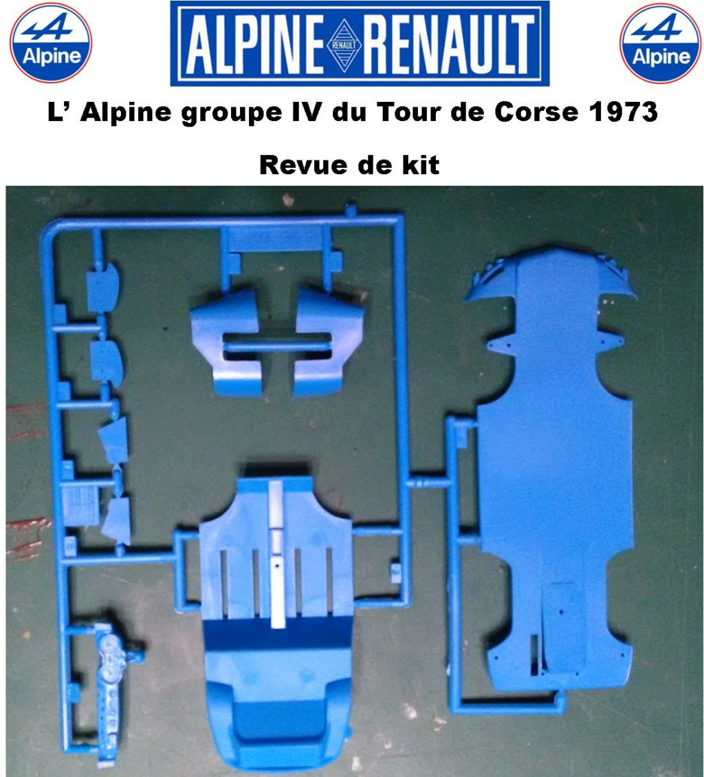 Fil rouge 2021 * Alpine A110 Groupe IV Tour de Corse 1973  1/24 Heller 80745  0413