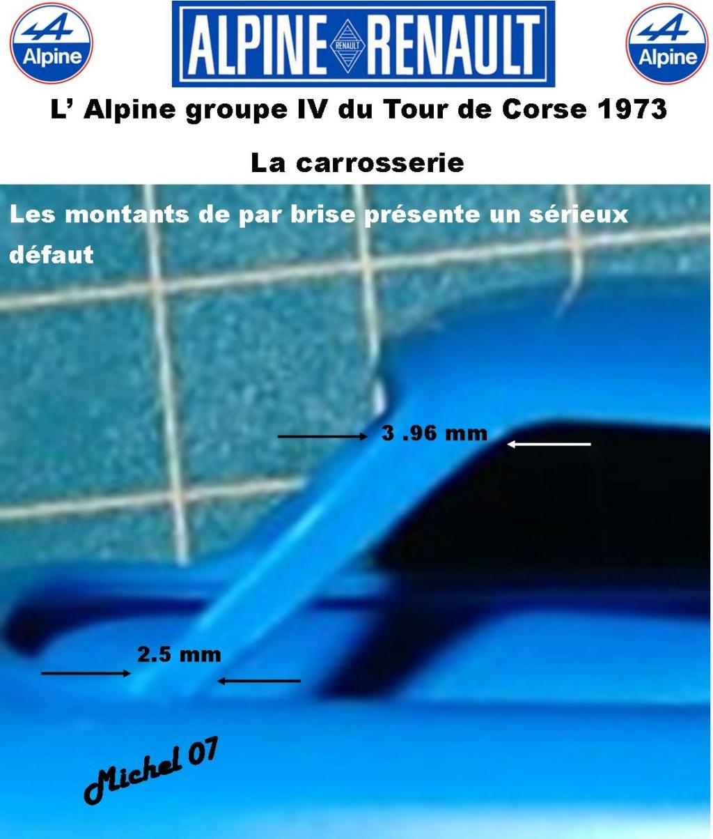 Fil rouge 2021 * Alpine A110 Groupe IV Tour de Corse 1973  1/24 Heller 80745  1013