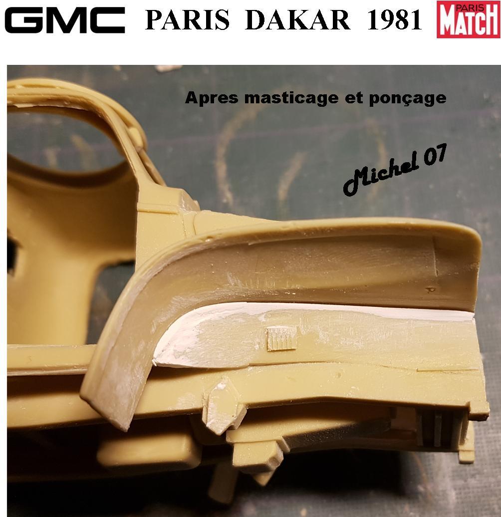 GMC CCKW Paris Dakar 1981 1/24 1014