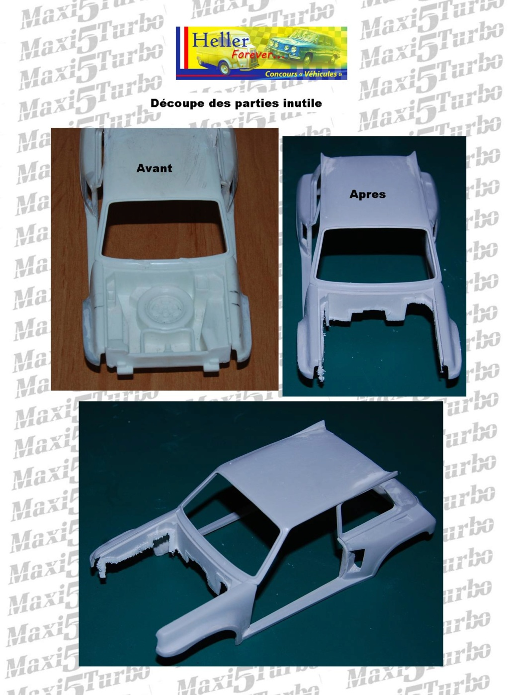 (1/24) Renault 5 Maxi turbo Ref 80717 ( Hors delai ) - Page 7 10310