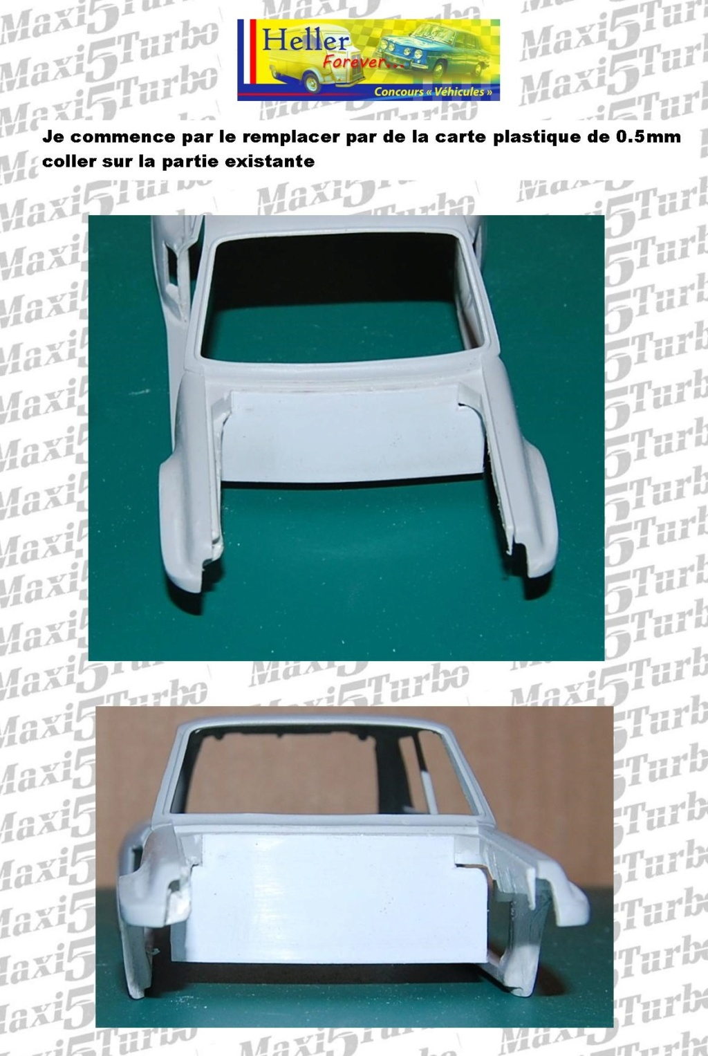 (1/24) Renault 5 Maxi turbo Ref 80717 ( Hors delai ) - Page 7 10910