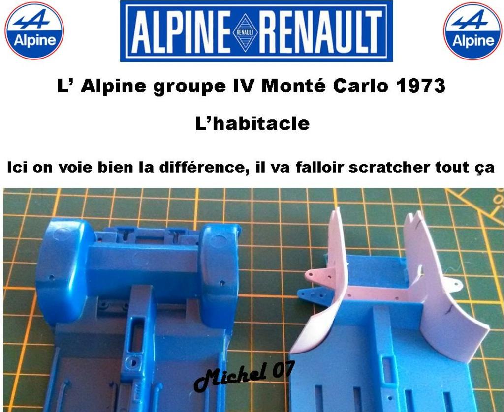 Fil rouge 2021 * Alpine A110 Groupe IV Monté Carlo 1973 1/24 Heller 80745 diorama assistance 10_311