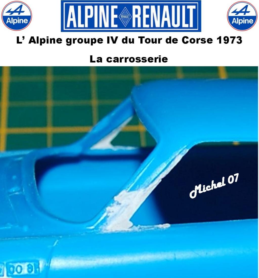 Fil rouge 2021 * Alpine A110 Groupe IV Tour de Corse 1973  1/24 Heller 80745  1114