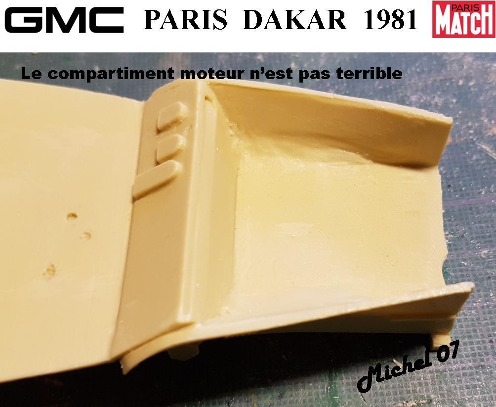 GMC CCKW Paris Dakar 1981 1/24 1115