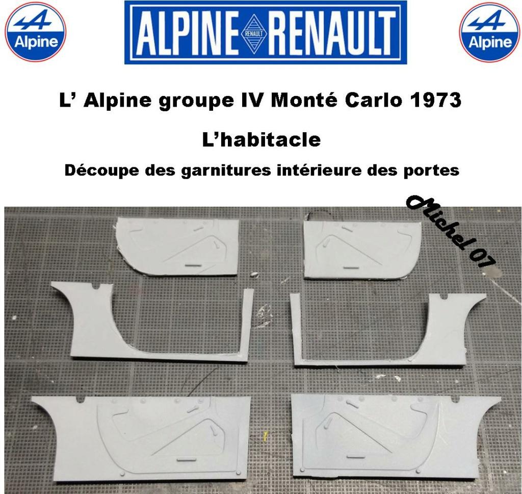 Fil rouge 2021 * Alpine A110 Groupe IV Monté Carlo 1973 1/24 Heller 80745 diorama assistance 11_312