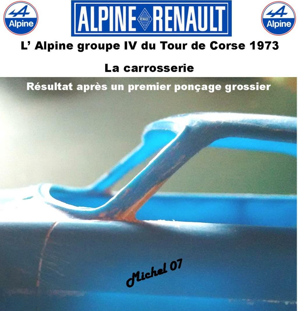 Fil rouge 2021 * Alpine A110 Groupe IV Tour de Corse 1973  1/24 Heller 80745  1213