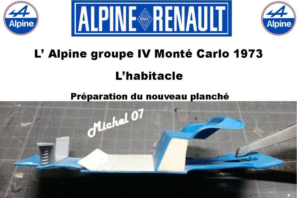 Fil rouge 2021 * Alpine A110 Groupe IV Monté Carlo 1973 1/24 Heller 80745 diorama assistance 12_312