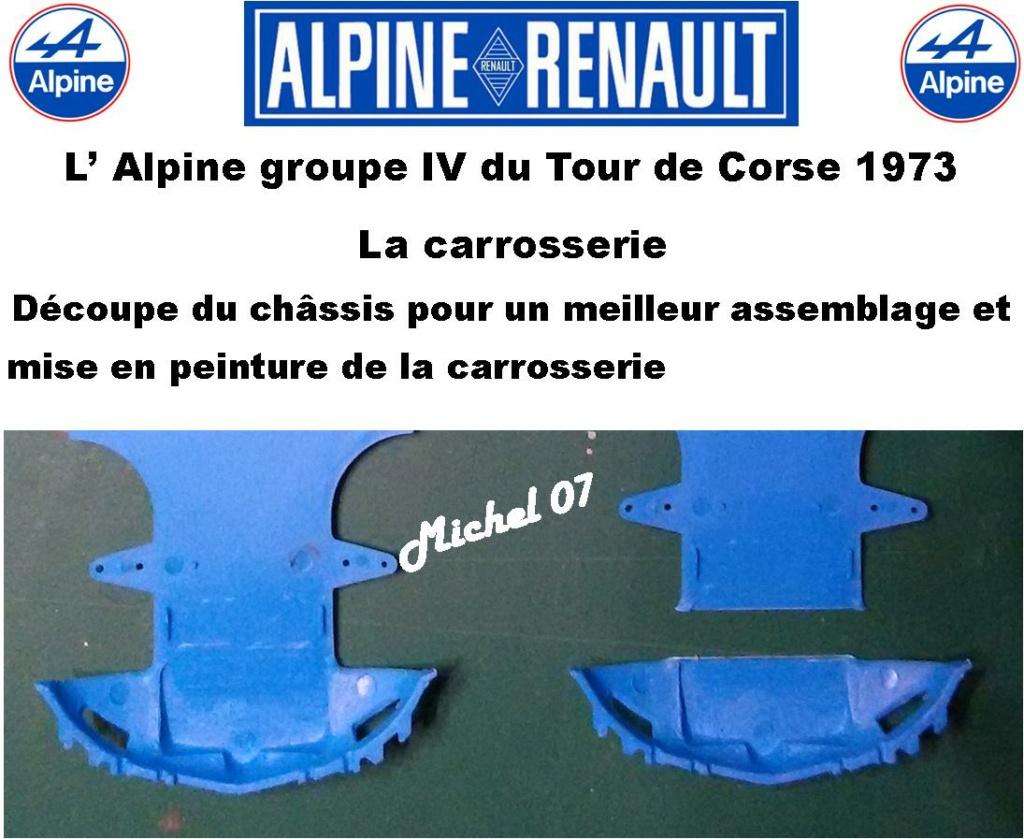 Fil rouge 2021 * Alpine A110 Groupe IV Tour de Corse 1973  1/24 Heller 80745  - Page 2 1313