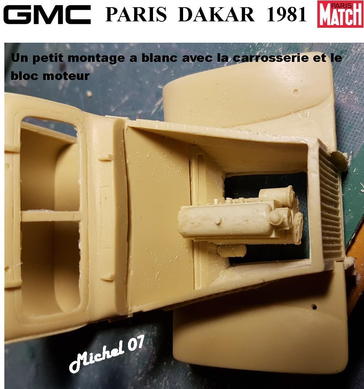 GMC CCKW Paris Dakar 1981 1/24 1314