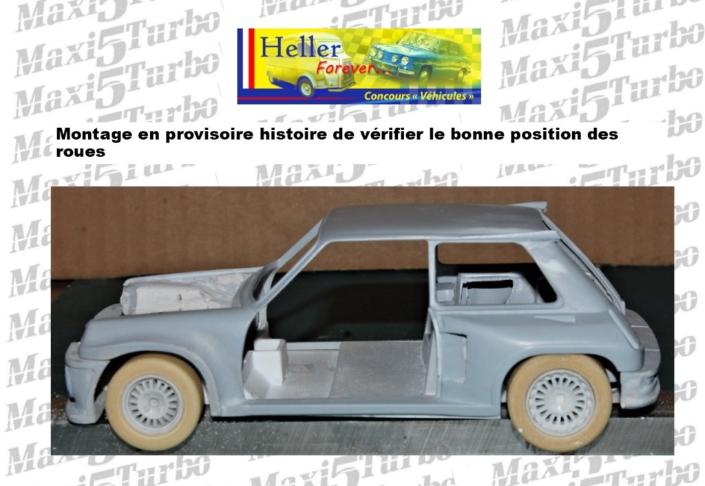 (1/24) Renault 5 Maxi turbo Ref 80717 ( Hors delai ) - Page 9 13310