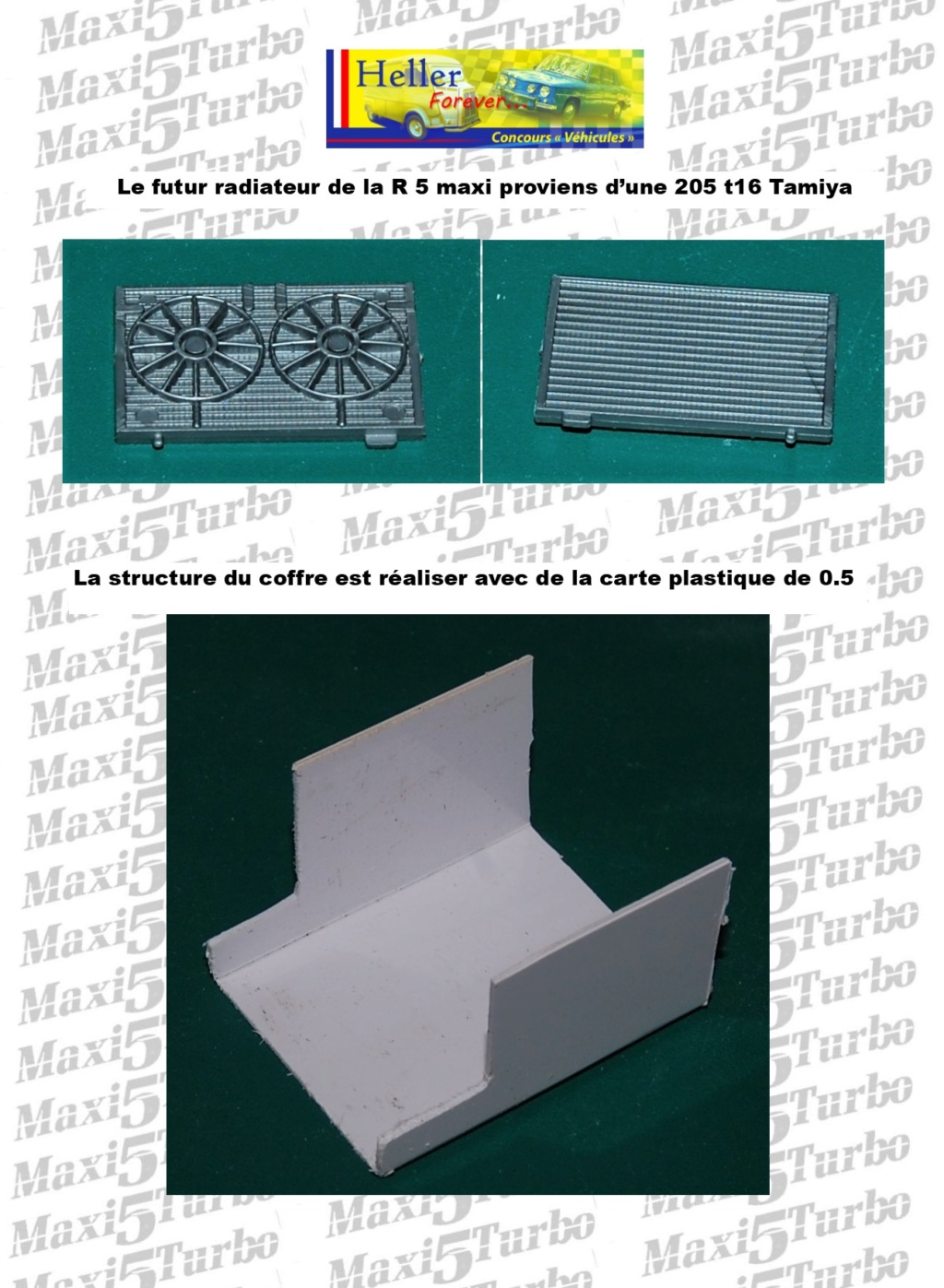 (1/24) Renault 5 Maxi turbo Ref 80717 ( Hors delai ) - Page 9 13410